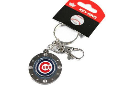 Chicago Cubs keychain - impact keychain with key ring clip