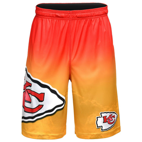 Kansas City Chiefs Shorts - Gradient Big Logo Training Shorts