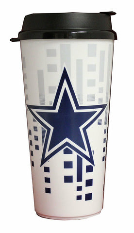 Dallas Cowboys Travel Mug - Insulated Travel Tumbler