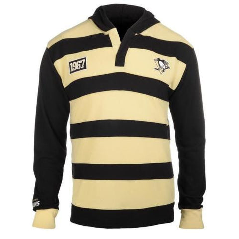 Pittsburgh Penguins Rugby Mens Cotton Hoody
