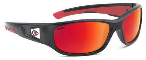 "Kansas City Chiefs Sunglasses - Premium Kids Sunglasses ""Zone"""