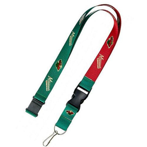 Minnesota Wild reversible lanyard - keychain badge holder