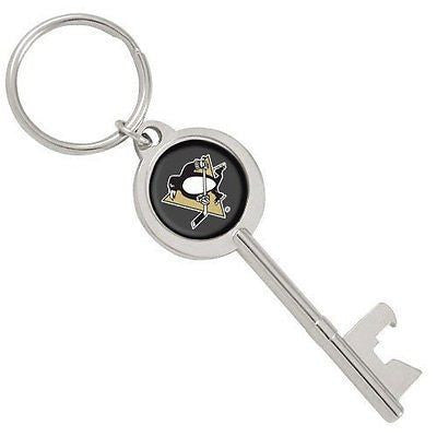 Pittsburgh Penguins Jackets Skeleton Key Bottle Opener Keychain