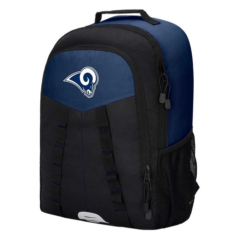 "Los Angeles Rams Backpack - ""Scorcher"" Sports Backpack"