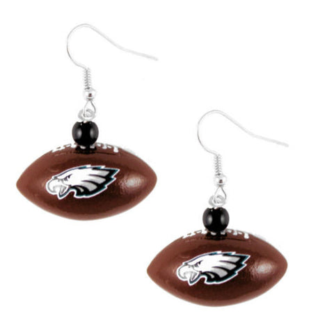 Philadelphia Eagles Earrings - Mini Football