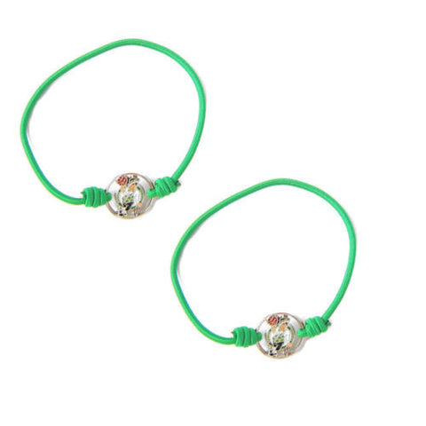 Boston Celtics Bracelet- hair tie stretch bracelet
