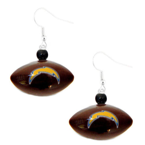Los Angeles Chargers Earrings - Mini Football