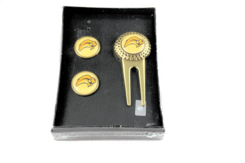 Buffalo Sabres divot tool golf ball marker set