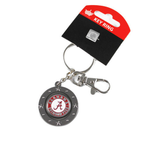 Alabama Crimson Tide Keychain - impact keychain key ring clip