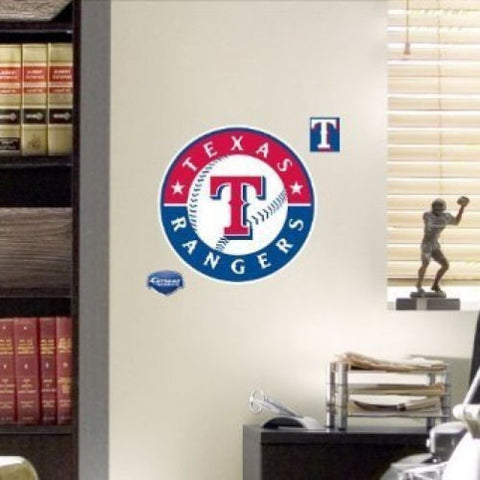 Texas Rangers Logo Fathead Decal