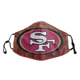 San Francisco 49ers Face Mask - Reuseable, Fashionable, Several Styles