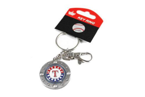 Texas Rangers keychain - impact keychain with key ring clip