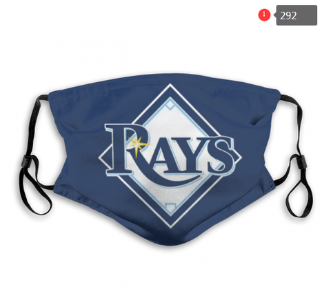 Tampa Bay Rays Face Mask - Reuseable, Fashionable, Several Styles