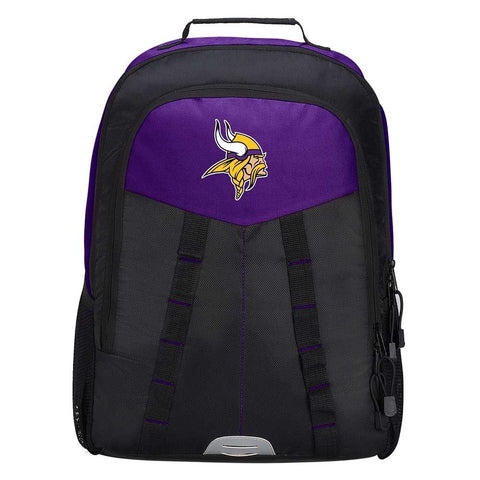"Minnesota Vikings Backpack - ""Scorcher"" Sports Backpack"
