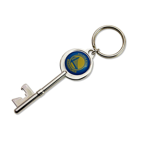 Golden State Warriors Skeleton Key Bottle Opener Keychain