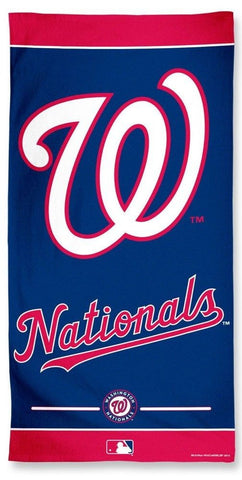 Washington Nationals Beach Towel