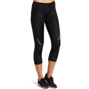 CW-X Women's 3/4 Length Stabilyx Tights, Black