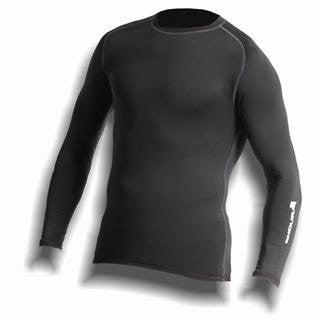 Endura Frontline Base Layer Long-Sleeve Shirt - Black
