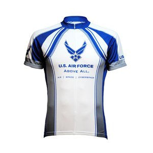 Primal Wear Men's US Air Force Above All Cycling Jersey