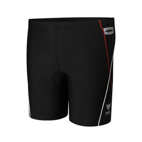 Tyr Men's Triathlon Splice 5 Inch Race Short (Gray, X-Large)