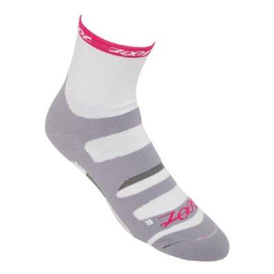 Zoot Endurance Cycle Socks White/Azalea Small/Medium