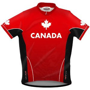 Primal Wear Canada Men's Cycling Jersey