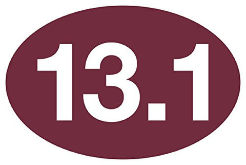 13.1 Maroon Sticker (Set of 4)