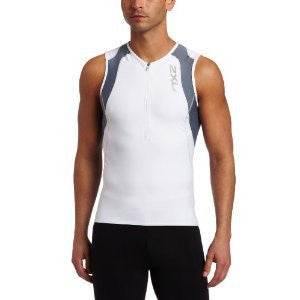 2XU Men's Long Distance Aero Tri Singlet