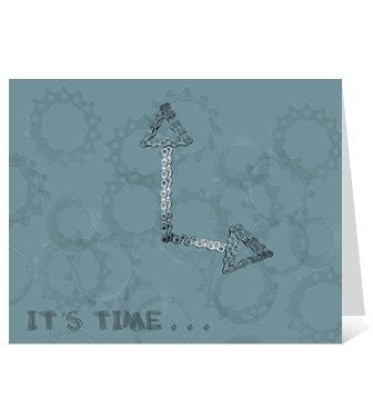 "Skeese Greets ""It's Time"" Birthday Card"
