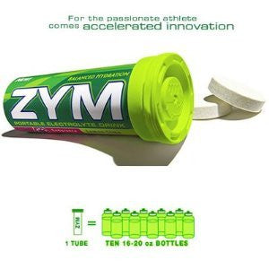 ZYM Portable Electrolyte Drink - Lemon/Lime - 12 Tubes