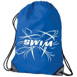 1Line Sports Drawstring Swim Bag - Royal