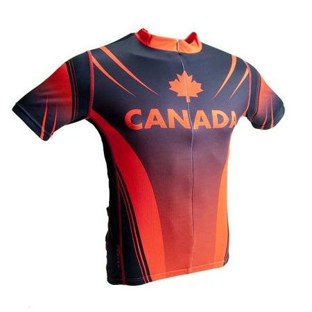 Primal Wear Men's Canada Cycling Jersey, Small