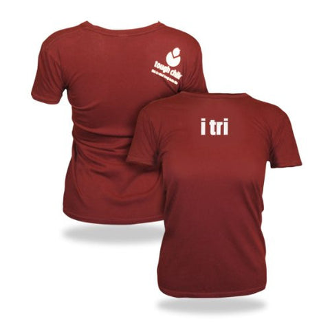 "Tough Chik Women's ""i tri"" T-Shirt"