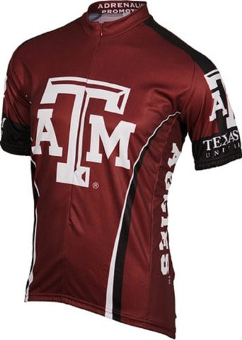 NCAA Men's Adrenaline Promotions Texas A&M Aggies Road Cycling Jersey