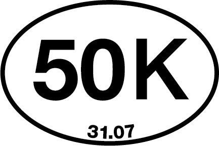 50K Sticker (Set of 4)