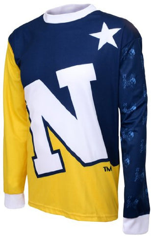 NCAA Men's Adrenaline Promotions US Navy Midshipmen MTB Cycling Jersey