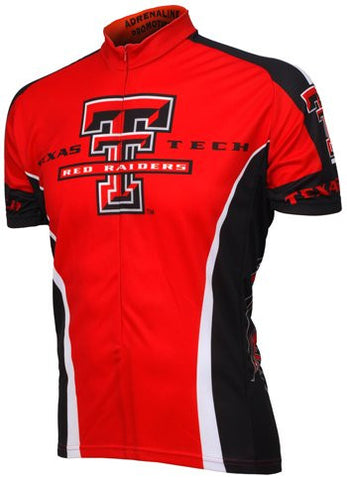 NCAA Men's Adrenaline Promotions Texas Tech Cycling Jersey