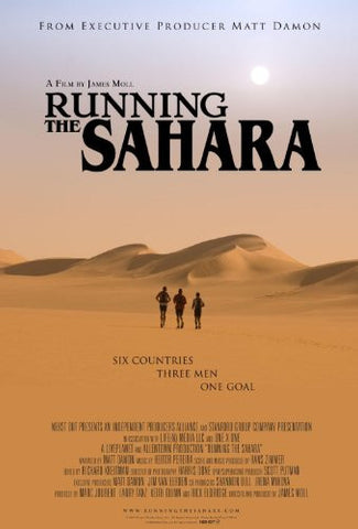 Running The Sahara (2010) [DVD] Narrated by Matt Damon