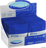 Foggies Anti-Fog Cleaning Towelettes: Case of 48