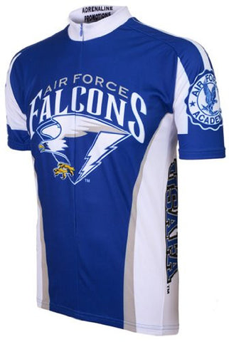 NCAA Men's Adrenaline Promotions Air Force Falcons Road Cycling Jersey