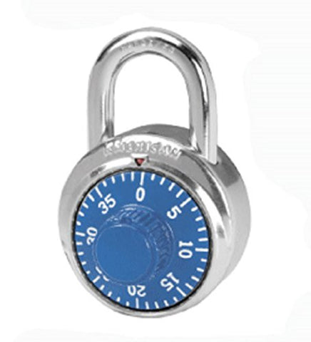 "HoldAll 1 3/4"" Maximum Security Chrome Plated Padlock"