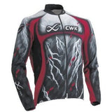 CW-X CONDITIONING WEAR MEN'S LONG SLEEVED TEAM CYCLING JERSEY