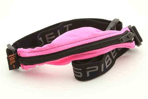 Spibelt - Great for Runners!, Hot Pink Pouch with Black Zipper