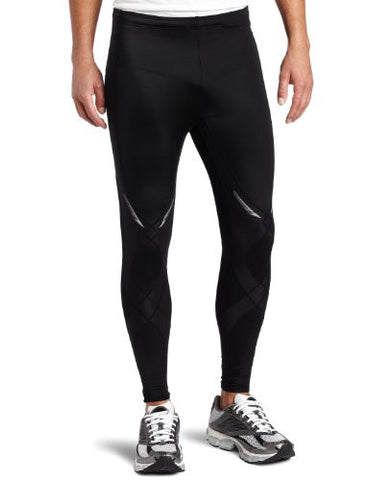 CW-X Men's Stabilyx Running Tights, Black