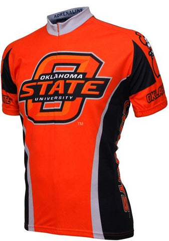 NCAA Men's Adrenaline Promotions Oklahoma State Cowboys Cycling Jersey