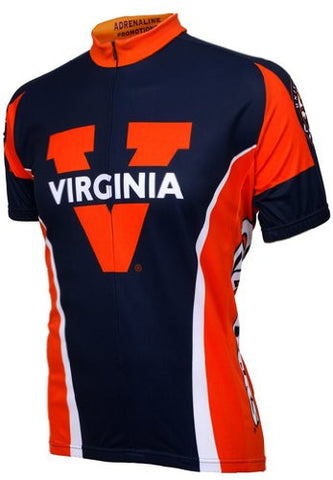 NCAA Men's Adrenaline Promotions Virginia Cavaliers Cycling Jersey