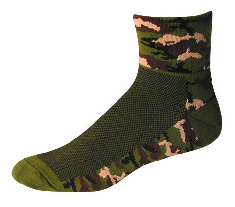 SOS Camouflage - Jungle Green Socks