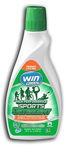 WIN High Performance Sports Detergent 32 oz (Green)