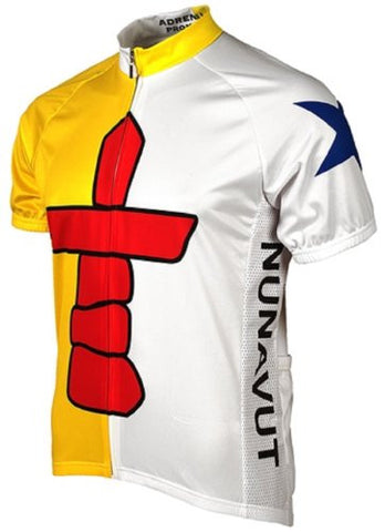 Adrenaline Promotions Canadian Territories Nunavut Cycling Jersey