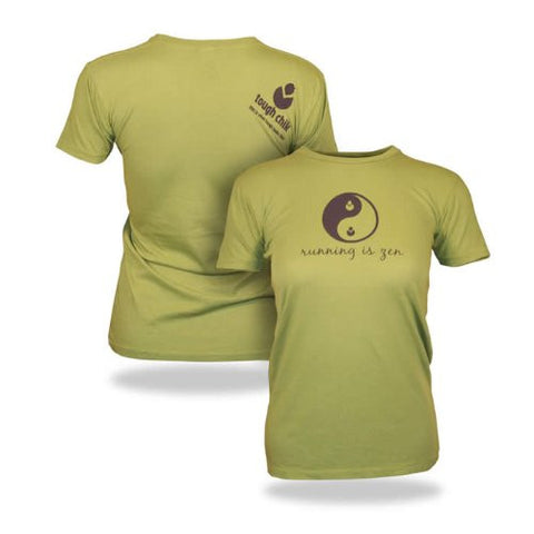 "Tough Chik ""Running is Zen"" T-Shirt"